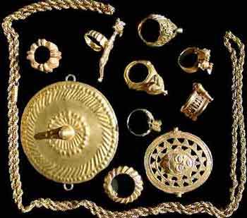 bijoux femme romaine
