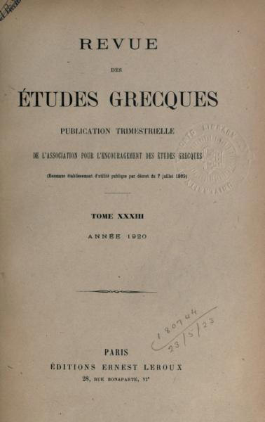 Agathias traduit par Mr. Cousin