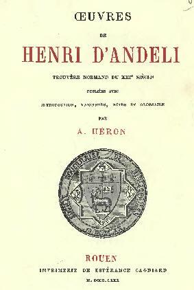 Henri d'Andeli